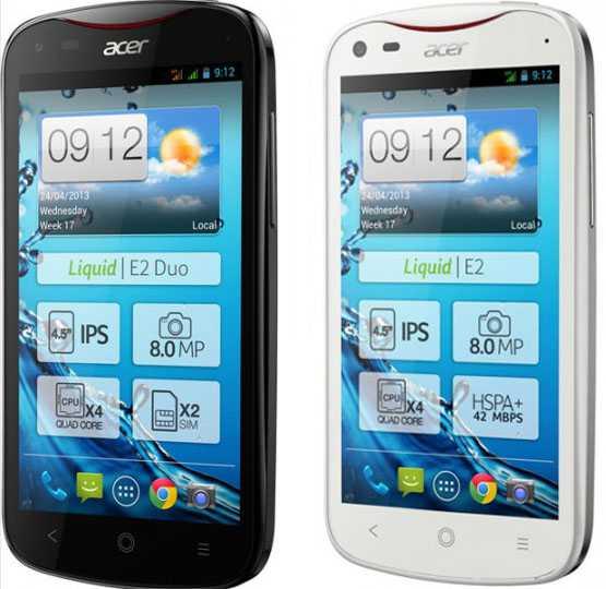 Acer Liquid E2 a 229€