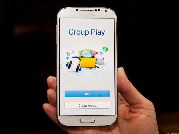Samsung Galaxy S4 Group Play in video