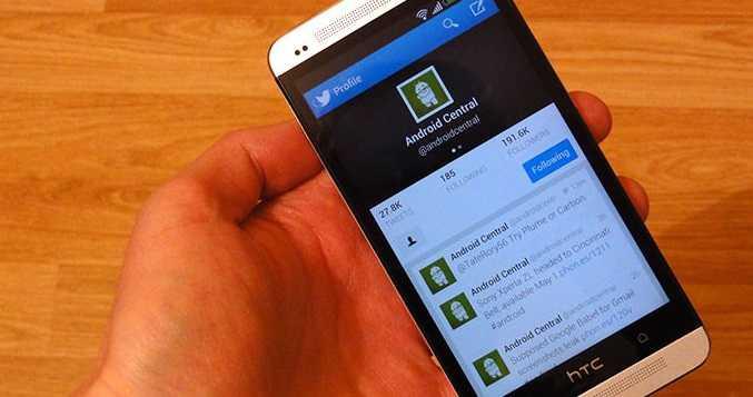 Nuovo aggiornamento di Twitter per Android