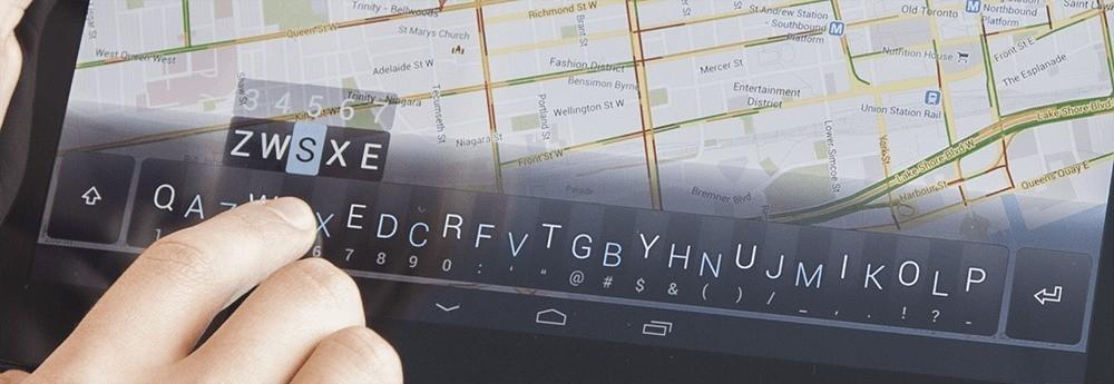 Minuum Keyboard – In arrivo una tastiera rivoluzionaria per Android e non solo!