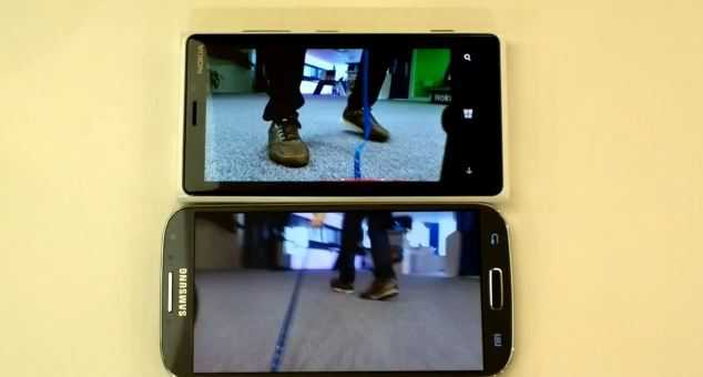 Lumia 920 batte Galaxy S4 in stabilità video
