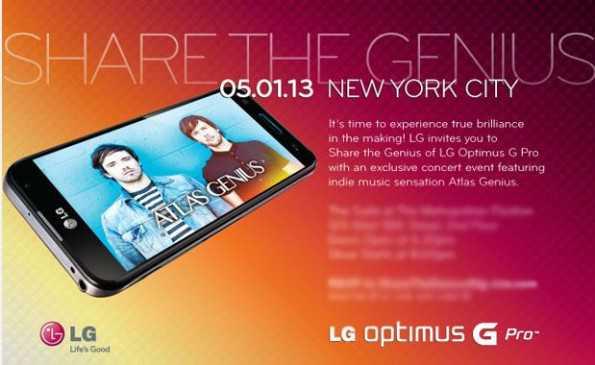 Lg Optimus G Pro verrà presentato negli Stati Uniti il 5 Maggio. Quando in Europa?