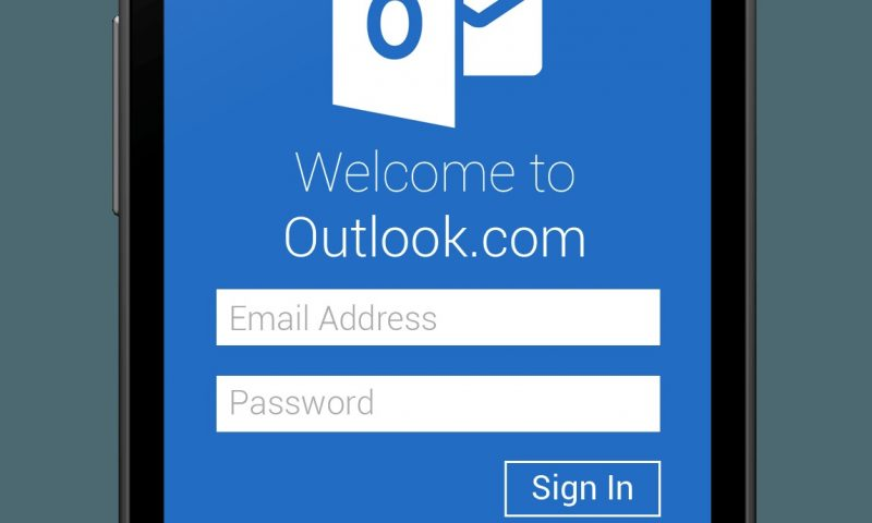 Outlook.com per android: addio definitivo ad hotmail