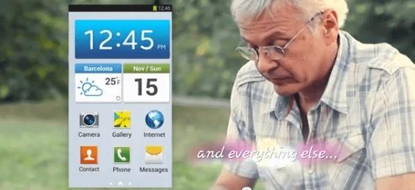 Nuovo spot per il Samsung Galaxy S4