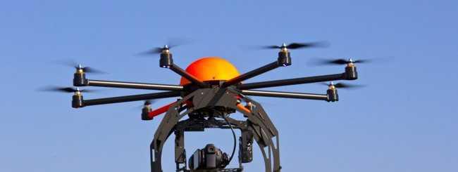 Galaxy S4 effettua riprese da un Drone