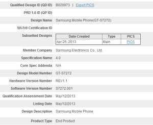 Samsung-Galaxy-Ace-3-Bluetooth-SIG