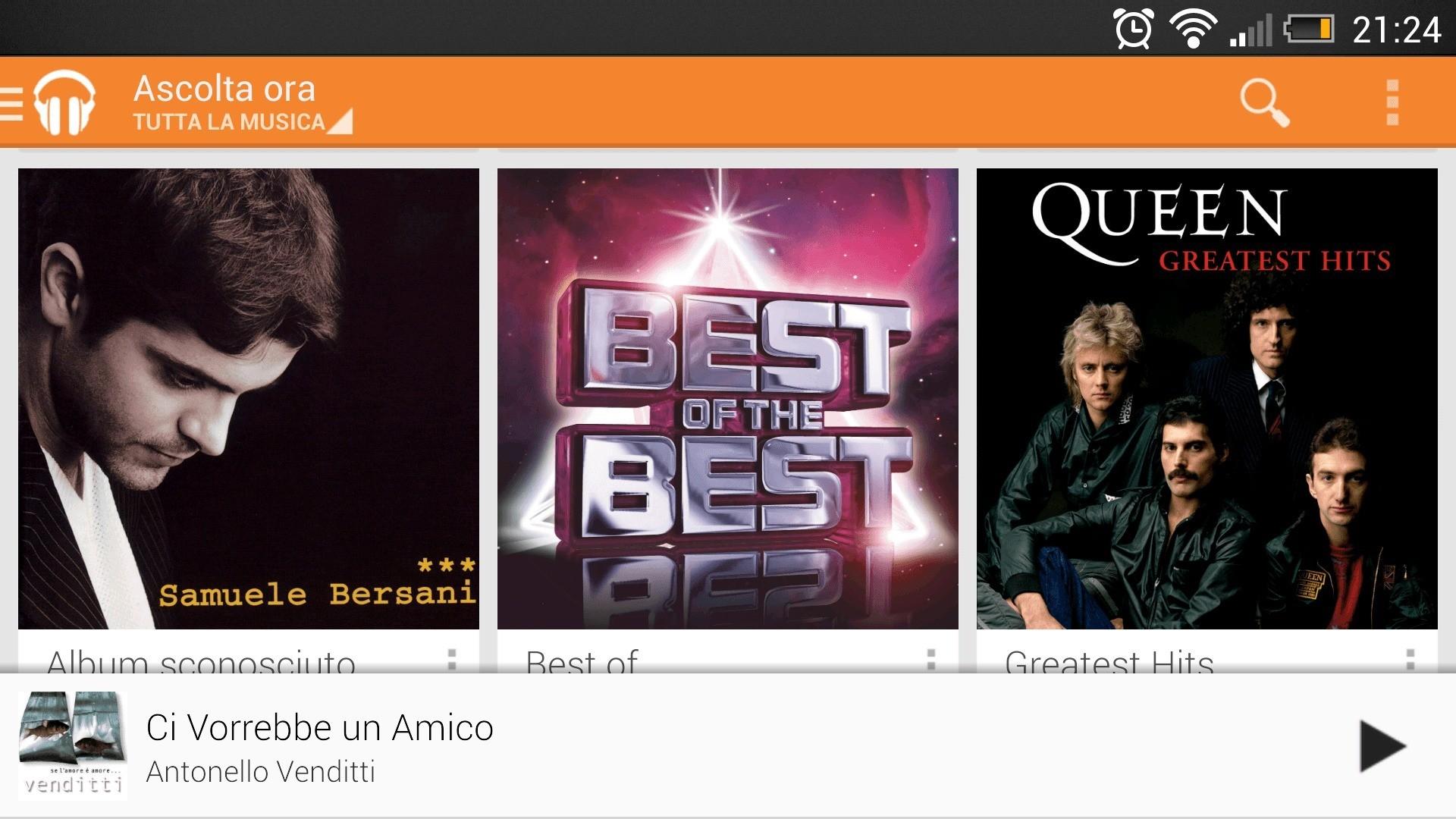 Google aggiorna Google Search e Google Play Music (download)