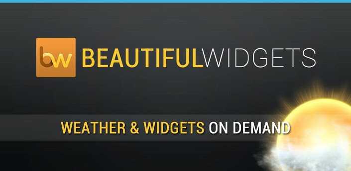 Beautiful Widgets diventa gratuito con possibilità di acquisti in-app!