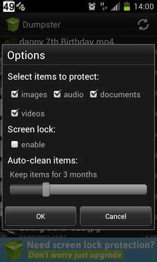 Arriva il cestino anche per Android grazie a Dumpster