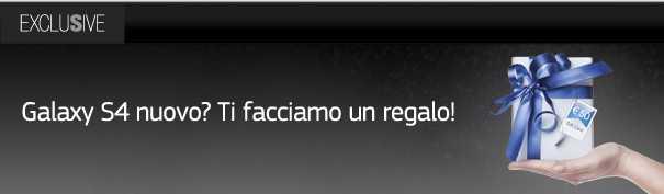 Samsung Italia regala 50€ a chi acquista un Galaxy S4