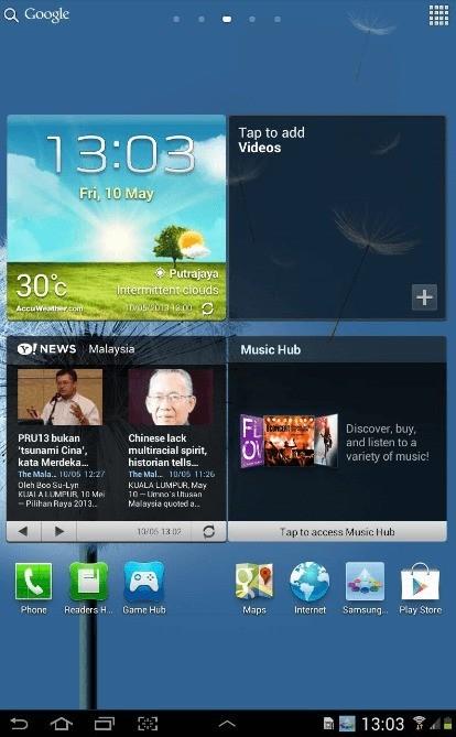 Samsung inizia dall'Asia il roll out di Jelly Bean 4.1.2 per Galaxy Tab 7.7 GT-P6800!
