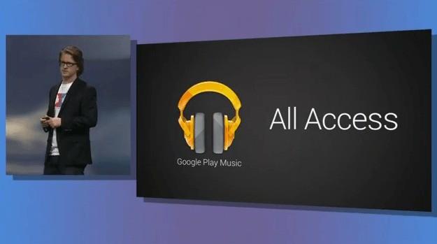 """Google annuncia Google Play Music All Access: """"La radio senza regole"""" che sfiderà Spotify!"""