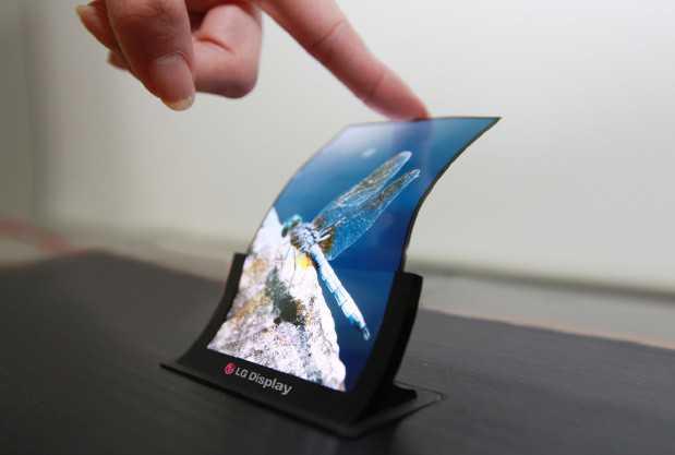 Lg presenterà Sabato il primo display OLED flessibile ed infrangibile!