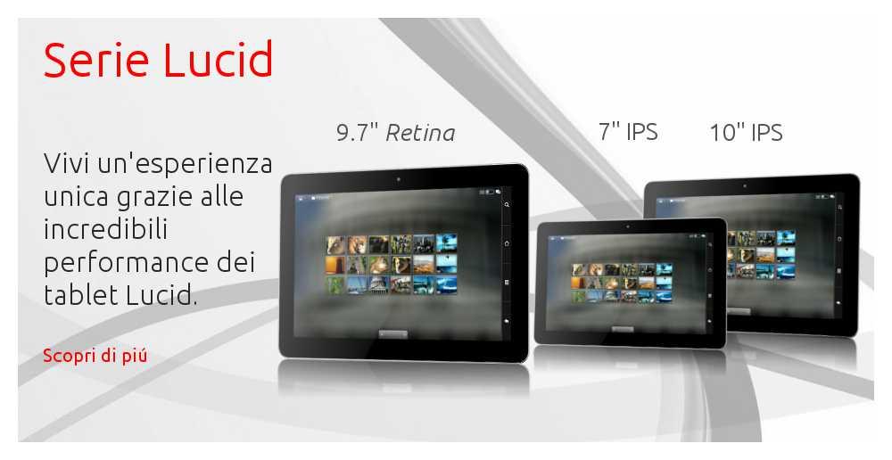 Ekoore presenta tre tablet della serie Lucid in cui spicca un 9.7″ retina!