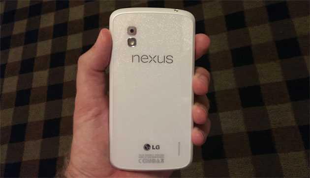 In arrivo un Google Nexus 4 Bianco con Android 4.3 per il 10 Giugno?