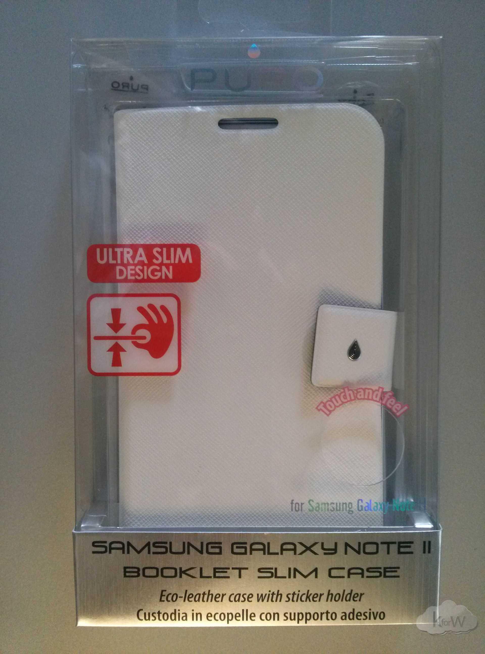 Recensione – Puro Booklet Slim per Galaxy Note II