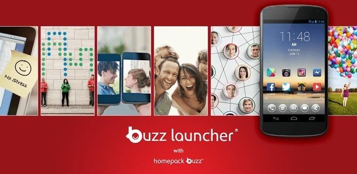 Buzz Launcher: versione finale su Android