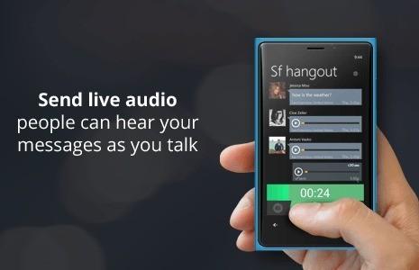 Voxer disponibile per Windows Phone 8 e grazie a Nokia funzioni esclusive!