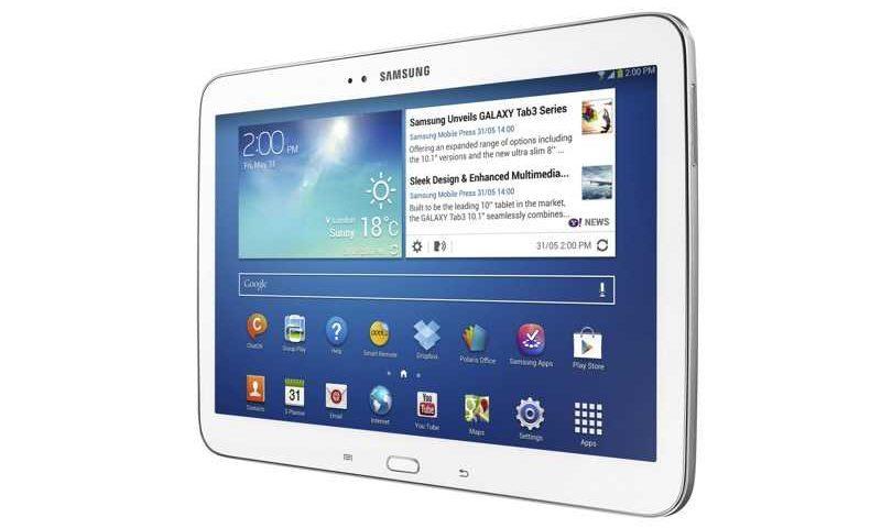 Aperitivo offerto da Samsung grazie al Galaxy Tab 3