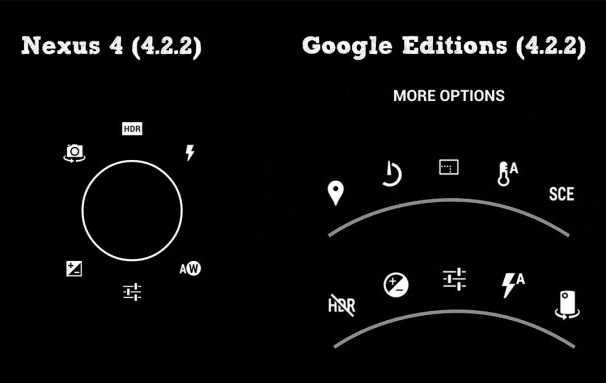 Disponibile l'apk della fotocamera S4 e HTC One Google Edition!