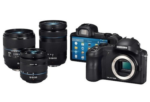 Samsung Galaxy NX | 20.3 megapixel ed Android!