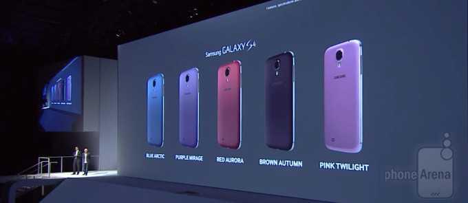 Samsung Galaxy S4 | Arrivano 5 nuove colorazioni!