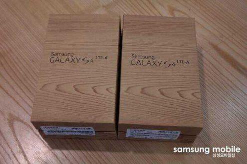 Samsung Galaxy S4 LTE-A | Trapelano le prime immagini!