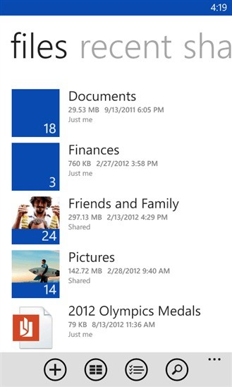SkyDrive per Windows Phone si aggiorna con tanti bug fix!