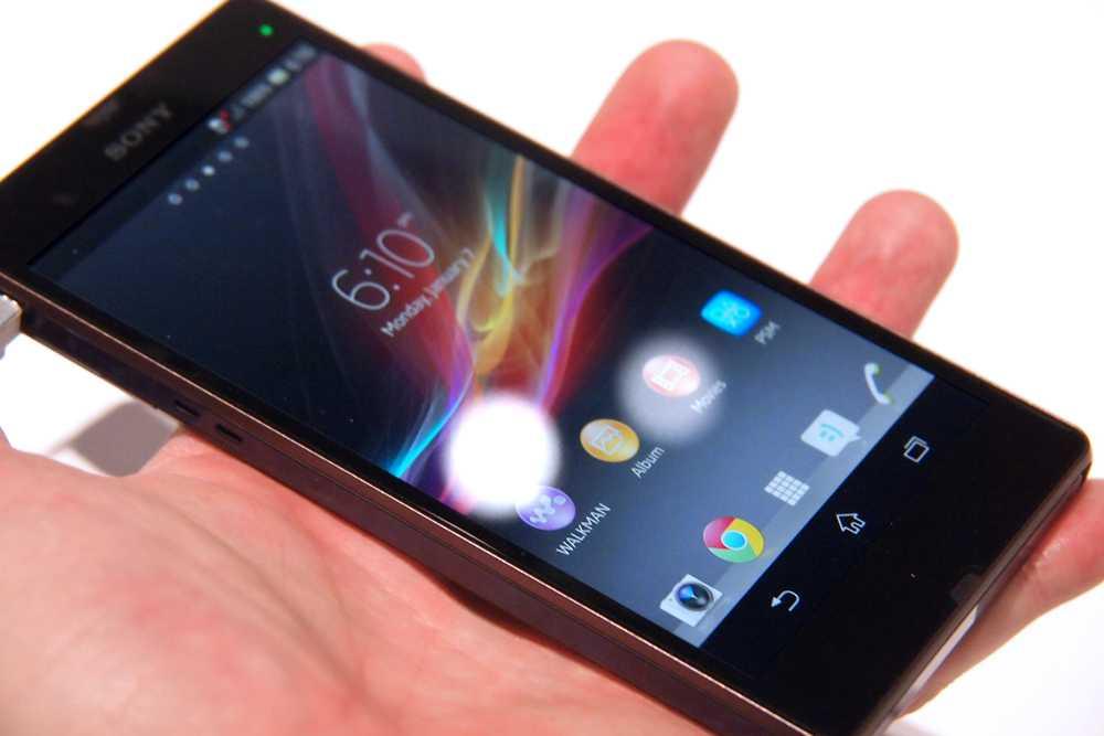 Nuovo Sony Xperia Z con processore Qualcomm Snapdragon 800