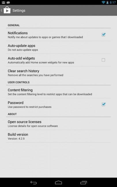 Google Play 4.2.9