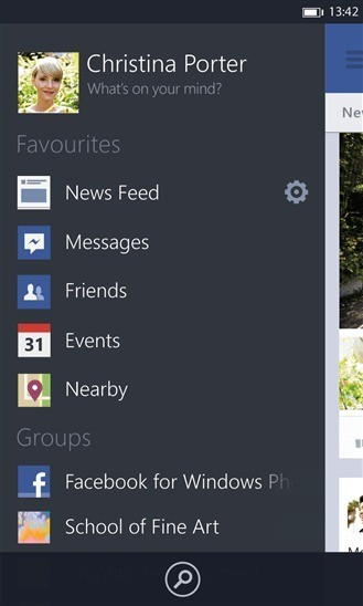 Facebook per Windows Phone si rinnova completamente!