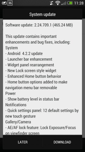 HTC One 4.2.2
