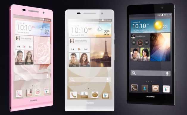 Huawei Ascend P6 ecco alcuni scatti