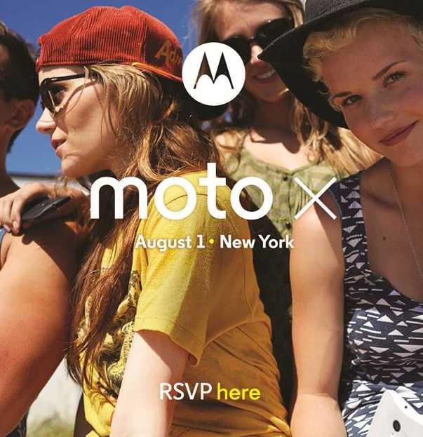 Motorola Moto X sarà presentato il 1 ° Agosto