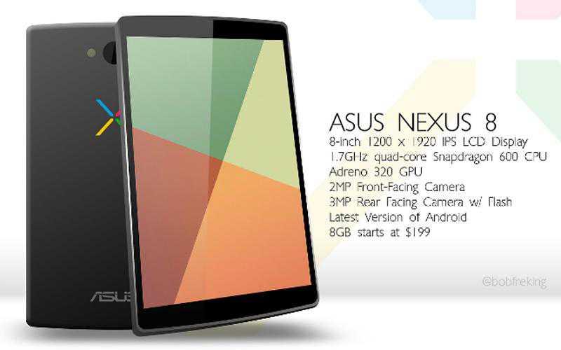Nexus 8 in arrivo a ottobre?