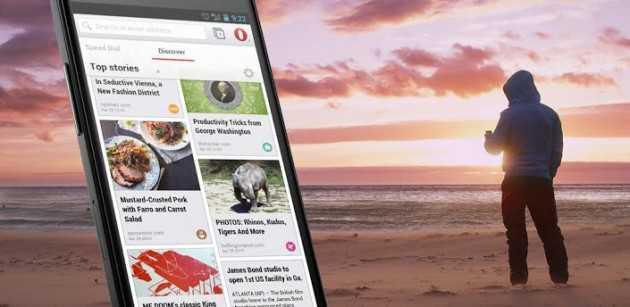 Opera 15 rilasciato ufficialmente su Play Store