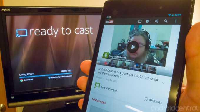 Configurazione Chromecast e prime impressioni