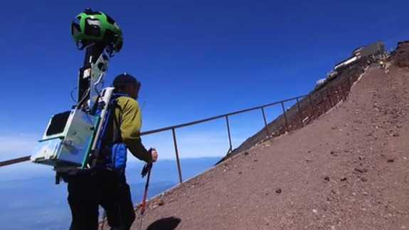 Google scala il Monte Fuji!