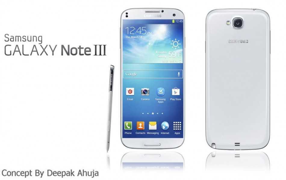 Prime immagini del pannello frontale del futuro Samsung Galaxy Note 3