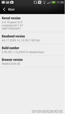 HTC One – Trapela una leaked rom con Android 4.3