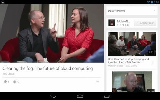 YouTube per Android si aggiorna con una nuova interfaccia e tante novità!