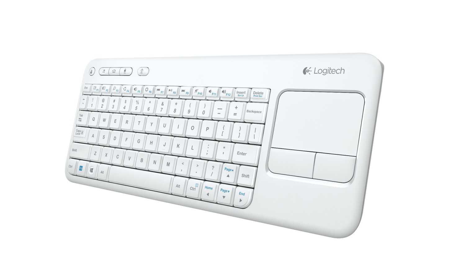 Nuova Logitech Wireless Touch Keyboard K400