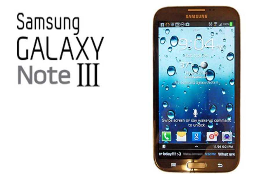 Samsung dichiara la spedizione di 5 milioni di Galaxy Note 3 in un mese
