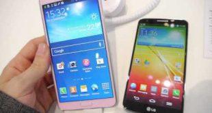 Video confronto rapido: LG G2 vs Samsung Galaxy Note 3