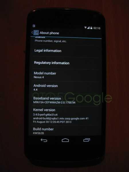 Android KitKat 4.4 | Arrivano le prime immagini!
