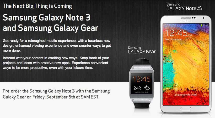 Samsung Galaxy Gear | Sarà compatibile anche con device non Galaxy !
