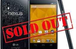 Nexus 5 incombe: il Nexus 4 è sold out su Google Play