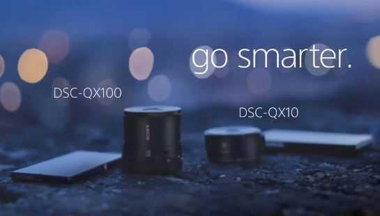 Sony Cybershot QX | Verrà supportata dall'app Camera360