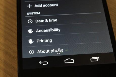 Android 4.4 KitKat Printing