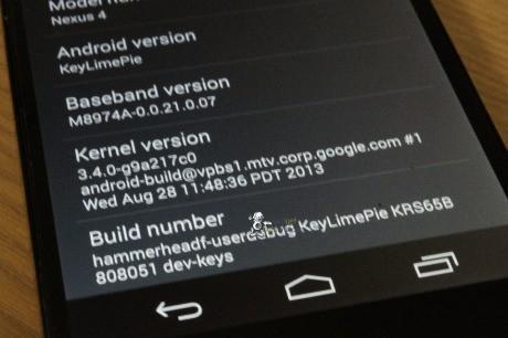Android 4.4 KitKat kernel